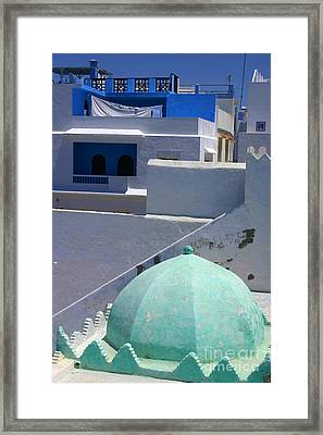 Asilah Meaning Authentic In Arabic Fortified Town On Northwest Tip Of Atlantic Coast Of Morocco Framed Print by PIXELS  XPOSED Ralph A Ledergerber Photography