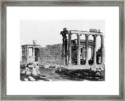 Athens Erechtheion Framed Print by Granger