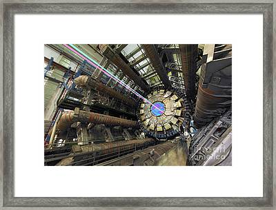 Atlas Detector, Cern Framed Print by David Parker