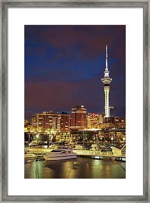 Auckland, North Island, New Zealand Framed Print