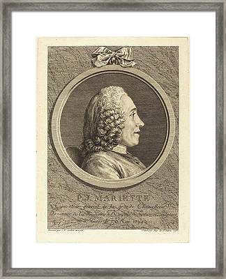 Augustin De Saint-aubin After Charles-nicolas Cochin II Framed Print by Quint Lox