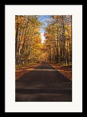 Roaring Fork Road Photographs Framed Prints