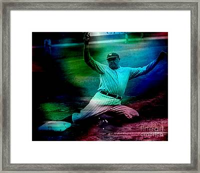 Babe Ruth Framed Print by Marvin Blaine