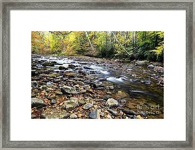 Back Fork Of Elk River Framed Print by Thomas R Fletcher