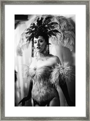 Backstage Framed Print by H James Hoff