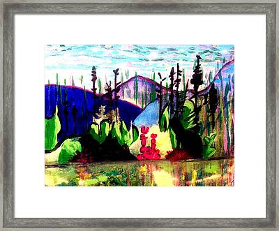 Backwoods  Framed Print