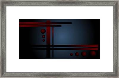 Balance Framed Print by Shabnam Nassir
