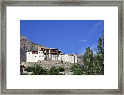 Baltit Fort At Karimabad In The Hunza Valley Pakistan Framed Print by Robert Preston