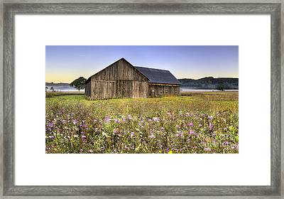 Barn In Sleeping Bear Dunes Framed Print by Twenty Two North Photography