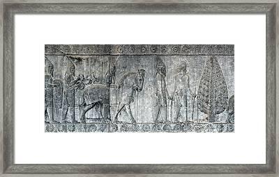 Bas-relief Framed Print by Babak Tafreshi