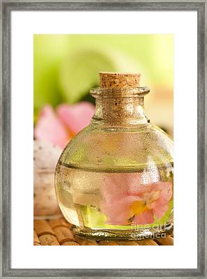 Bath Salt Framed Print by Mythja  Photography