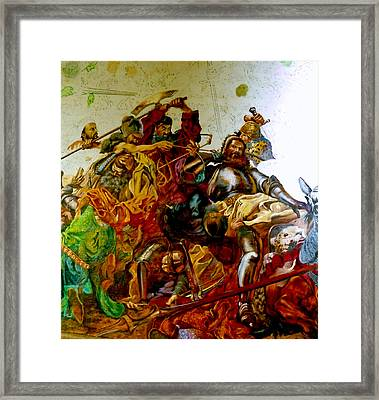Battle Of Grunwald Framed Print