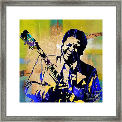 Bb King Collection Framed Print