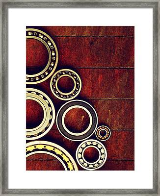 Bearings Framed Print by TouTouke A Y