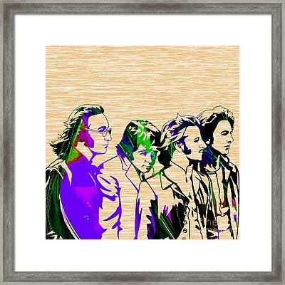 Beatles Collection Framed Print