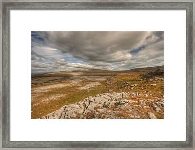 Beautiful Burren Landscape Framed Print by John Quinn