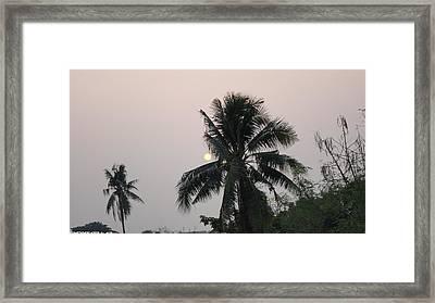 Beautiful Evening Framed Print by Gornganogphatchara Kalapun