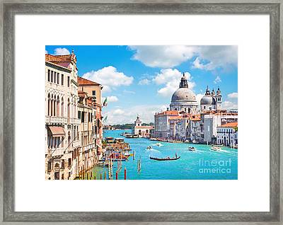 Beautiful Venice Framed Print by JR Photography