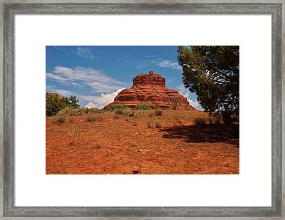 Bell Rock - Sedona Framed Print by Dany Lison