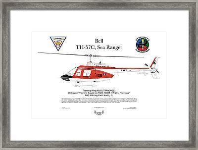 Bell Th-57c Sea Ranger Framed Print