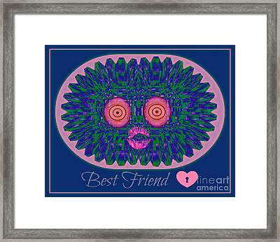 Best Friend Framed Print by Meiers Daniel