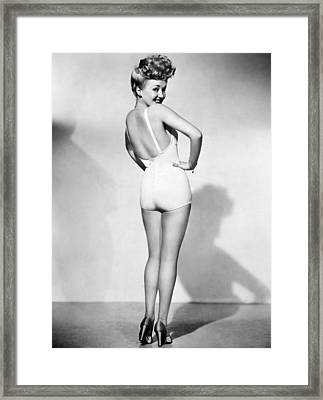 Betty Grable (1916-1973) Framed Print by Granger