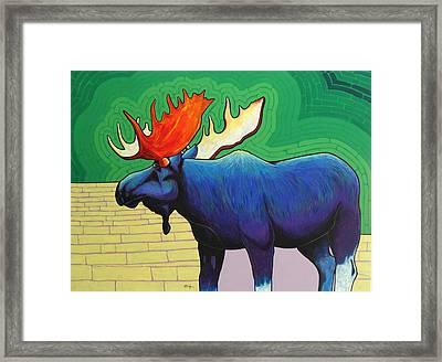 Big Blue Framed Print by Joe  Triano