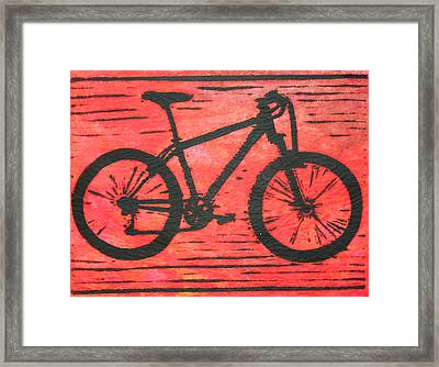 Bike 10 Framed Print