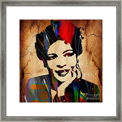 Billie Holiday Collection Framed Print