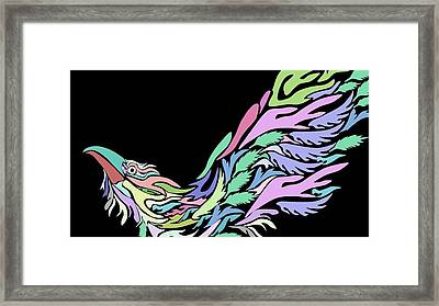 Bird Framed Print by Moshfegh Rakhsha
