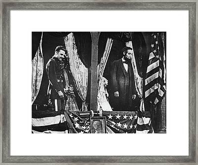 Birth Of A Nation, 1915 Framed Print