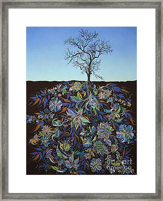 Blue Afternoon  Framed Print