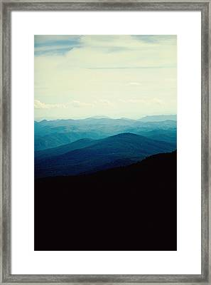 Blue Ridge Mountains Framed Print by Kim Fearheiley