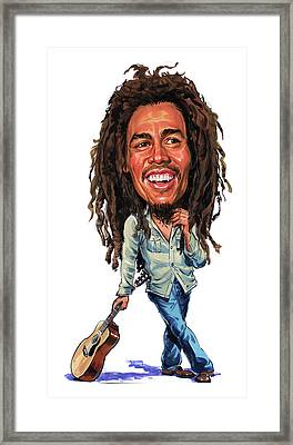 Bob Marley Framed Print by Art