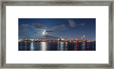 Boston Framed Print by Babak Tafreshi