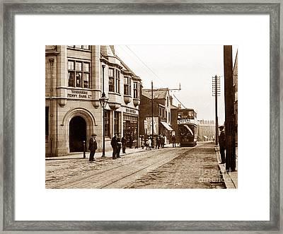 Bramley Near Leeds England Framed Print by The Keasbury-Gordon Photograph Archive