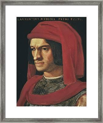 Bronzino, Agnolo Di Cosimo Di Mariano Framed Print