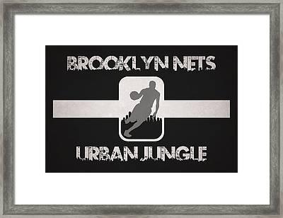 Brooklyn Nets Framed Print