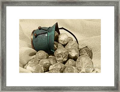 Brussels Sprouts Framed Print