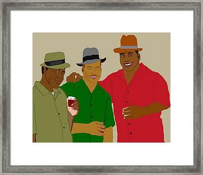 3 Buds Framed Print by Pharris Art