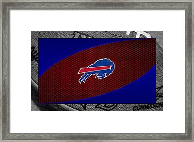 Buffalo Bills Framed Print by Joe Hamilton
