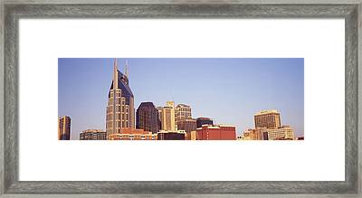 Buildings In A City, Bellsouth Framed Print