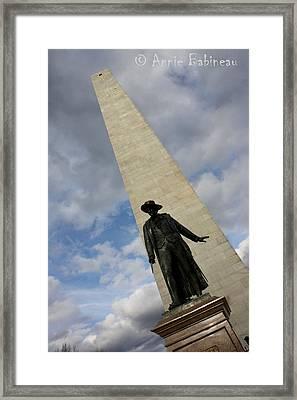 Bunker Hill Framed Print by Annie Babineau