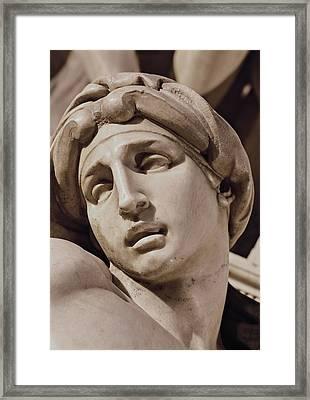 Buonarroti Michelangelo, Tomb Framed Print by Everett