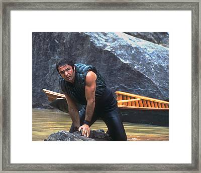 Burt Reynolds In Deliverance  Framed Print by Silver Screen