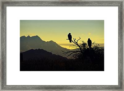 By Dawn's Early Light  Framed Print