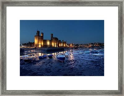 Caernarfon Castle Framed Print by Ollie Taylor