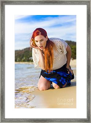 Call Of The Wild Framed Print by Jorgo Photography - Wall Art Gallery