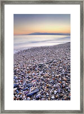 Calm Sunset Framed Print