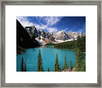 Canada, Alberta, Banff National Park Framed Print